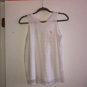 white tank top with laces